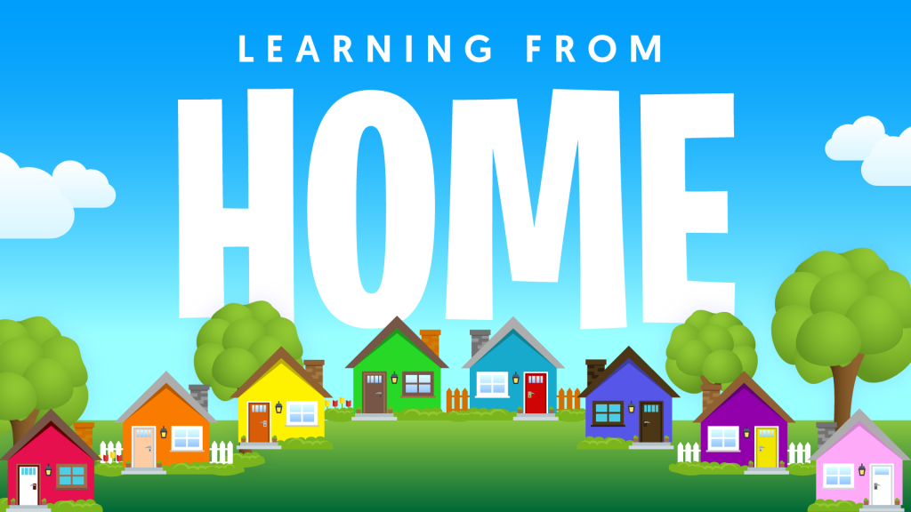 distance remote home learning