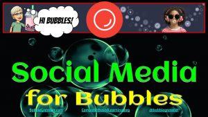 GoBubble is a social media platform for children.