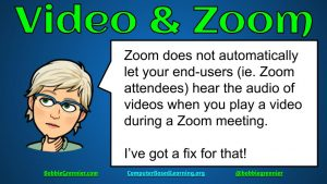 ZOOM Must-Do for Videos
