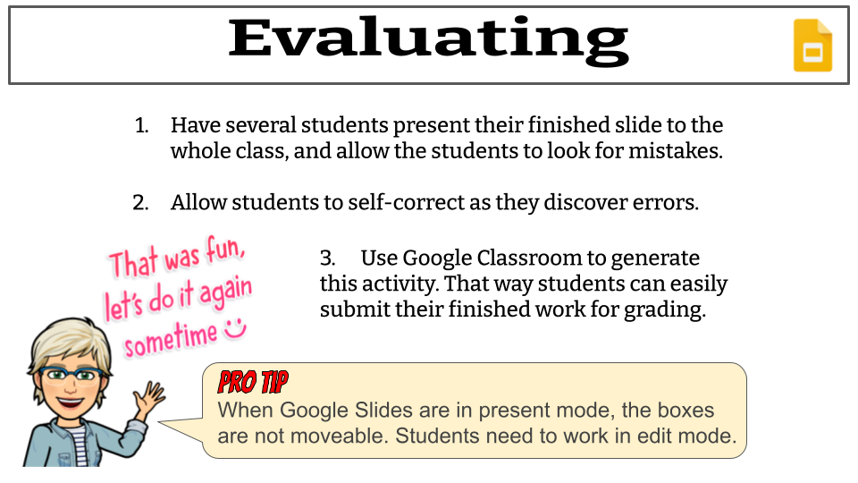 How to Create Drag and Drop Activities on Google Slides