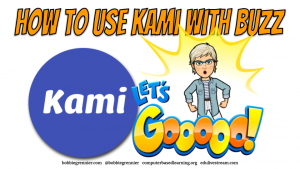 How to use Kami with Buzz